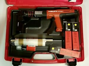 Hilti Dx 351 Gas Actuated Tool X mx 32 Brand New Kit