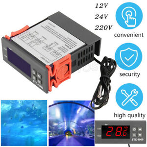 Stc 1000 Digital Ac 110 220v Temperature Controller Thermostat Aquarium Sensor