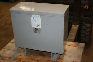 New Acme 15 Kva Encapsulated Transformer Step Up Or Down 480d 208y 120