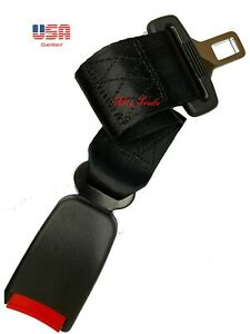 Extension 14 Seat Belt Black Extender Belt Extension With Buckle