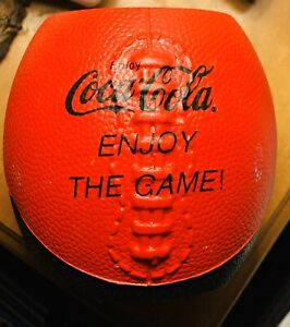 Coca Cola Football Can Koozie Koosie Coozie Football Shape