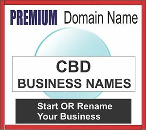Premium Business Domain Names Cbd choose Your Name