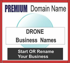 Premium Business Domain Names Drone choose Your Name