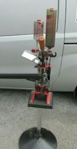 MEC 9000 G 12 Gauge Progressive Reloading Press w Frankford Arsenal Stand NICE $375.00