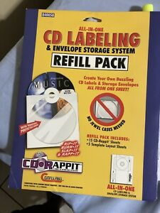 Avery 98122 Cd Labels Cd Stomper Cd dvd Labeling System Matte White 300 Pack
