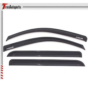 Fit 04 09 Toyota Prius Hatchback Rain Window Visor Tape On Guard Vents Deflector