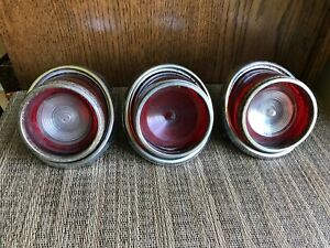 Vintage 1965 Chevrolet Impala Tail Light Lot Custom Rat Rod 1232