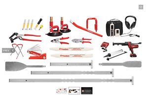 Equalizer Glass Removal Kit With Ambush Battery Windshield Cut Out Removal Tool