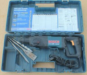 Bosch 11224vsr 7 8 Sds plus Corded Electric Bulldog Rotary Hammer W case