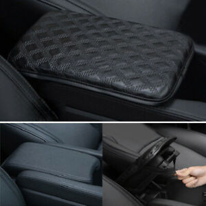 Accessory Car Armrest Pad Cover Center Console Box Leather Cushion Armrests Pads