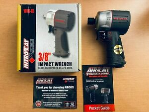 Aircat 1076 xl 3 8 Composite Compact Impact Wrench Silver Grey