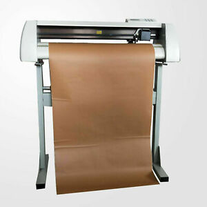 New 24 Cutting Plotter Vinyl Cutter Sign Making Machine Cutting With Iron Stand