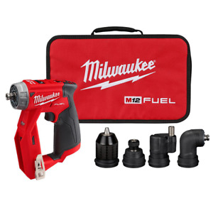 Milwaukee Installation Drill Driver W 4 Tool Head Tool only Brushless 12 volt