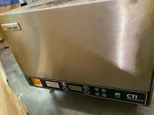 Lincoln Impinger 2502 16 Conveyor Belt Pizza Sub Oven 240 Volt 2500 Series
