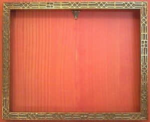 16 X 20 Versatile Standard Ornate Embossed Gold Picture Frame W Glass
