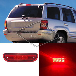 Led 3rd Brake Cargo Light For 99 04 Jeep Grand Cherokee Wj Stop Lamp Red Tail