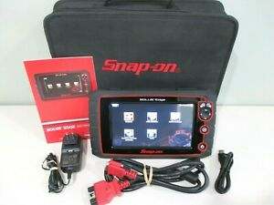 Snap On Solus Edge Touch Diagnostic Full Function Scanner Like New Cond
