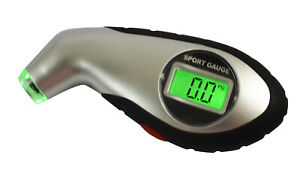 Digital Tire Air Pressure Gauge Meter Tester Bike Car Auto Truck Lcd Display New