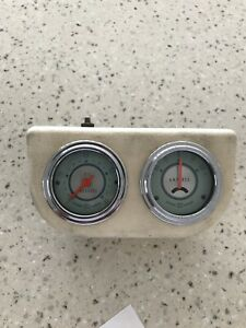 Stewart Warner Oil Pressure And Amp Gauges