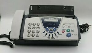 Brother Fax 575 Personal Fax Machine Printer For Parts repair Only