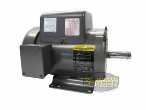 5 Hp 1 Phase Industrial Baldor Electric Motor 184t Frame L8430t 230 Volt
