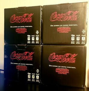 Lot of 4 - Coca-Cola New Coke Stranger Things 1985 Collector's Packs