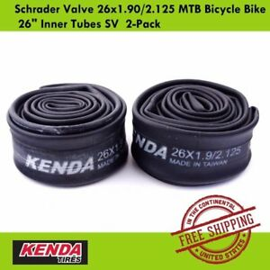 Kenda Schrader Valve 26x1.902.125 MTB Bicycle Bike 26