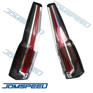 Tail Lights Led Rear Lamp Brake Cadillac Escalade Style For 2015 2020 Gmc Yukon