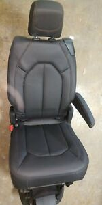 Chrysler Pacifica Middle Row Bucket Seats Black Leather 2018 Like New