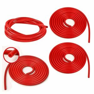4mm 6mm 8mm 12mm Inner Diameter High Performance Red Silicone Vacuum Hose Kit