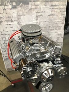 383 Stroker Crate Engine Motor 475hp Roller Turn Key Pro Street Chevy Sbc Look