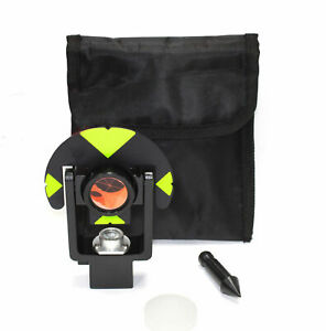 New Leica Style Surveying Mini Prism For Total Station Gmp101 Wild Peanut