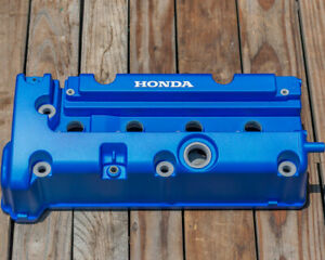 Honda K24 K20 Type R Accord Civic Rsx Valve Cover Powder Coated In Spoon Blue
