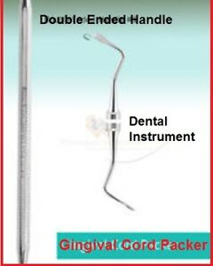 Dental Instrument Gingival Cord Packer Serrated 1 Gcpr7 Checking Sterilization