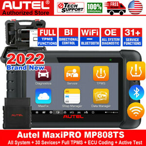 Autel Maxipro Mp808ts Obd2 Auto Diagnostic Scanner Scan Tablet Tpms Service Tool