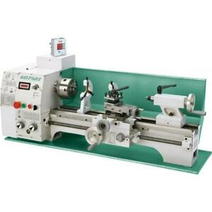 Grizzly G0752z 10 X 22 Vs Benchtop Lathe With 2 axis Dro