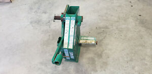 Greenlee 22220 1818g1 Mechanical Conduit Bender Head Frame Unused Show Rust