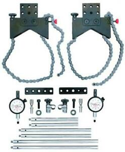 Starrett S668dz Shaft Alignment Clamp Set With Fitted Case New