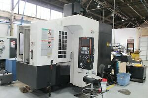 Mazak Variaxis 500 5x 5 Axis Cnc Machining Center With 2 Pallet Changer