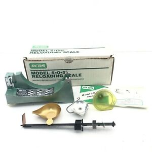 NEW Old Stock RCBS Model 5.0.5. Reloading Scale with Original Box  $109.99