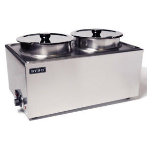 Sybo Commercial Grade Stainless Steel Bain Marie Buffet Food Warmer Steam Table