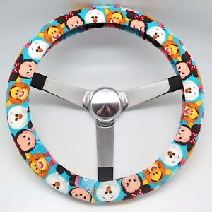 Hand Made Steering Wheel Covers Walt Disney Chibi Mickey Mouse And Friends