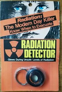 Vintage Radiation Detector Nuclear Warning New Sealed C1970s Rare
