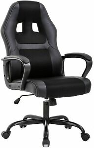 Office Chair Pc Gaming Chair Desk Chair Ergonomic Pu Leather Executive Chair