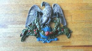 X Large American Eagle Cast Iron Door Knocker Hand Painted
