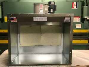 4 Wide Table Top Spray Paint Booth 1 Phase Made In Usa
