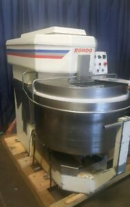Rondo Vmi Spi 220 Av Spiral Dough Mixer 220 Liters 230 Quarts Bowl