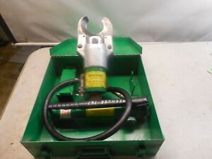 Greenlee 750 746 Hydraulic Cable Wire Cutter W 767 Pump