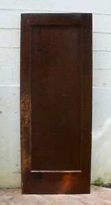 3 Avail 30 X77 Antique Vintage Arts Crafts Interior Solid Wood Wooden Door Panel