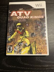 ATV Quad Kings For Wii Racing Very Good